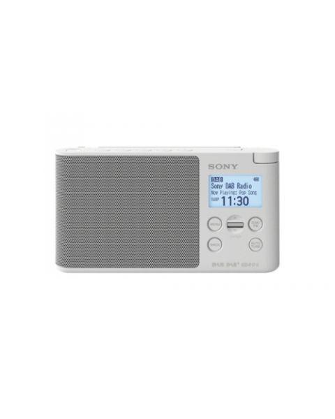 Sony XDR-S41D Portatile Digitale Bianco
