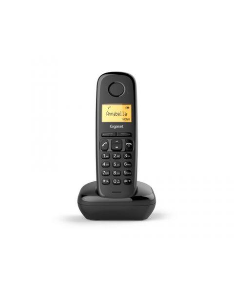 Gigaset A170 Telefono analogico/DECT Identificatore di chiamata Nero