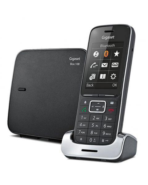 Gigaset SL450 Telefono analogico/DECT Identificatore di chiamata Nero