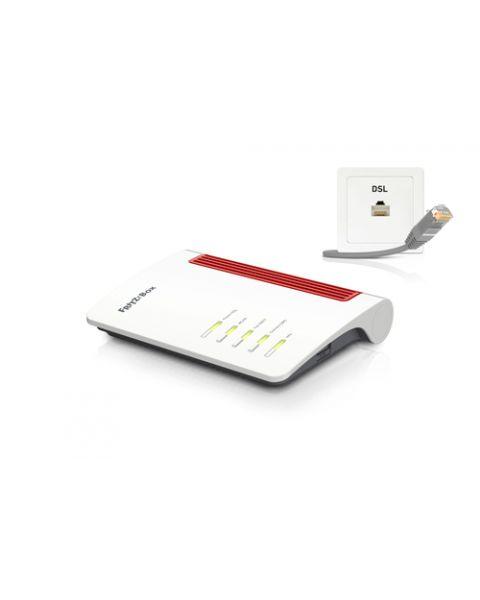 AVM 20002845 FRITZ!Box 7530 International router wireless Gigabit Ethernet Dual-band (2.4 GHz/5 GHz) Bianco