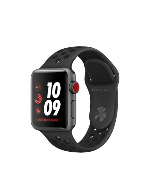 Apple Watch Nike+ 38 mm OLED 4G Grigio GPS (satellitare)