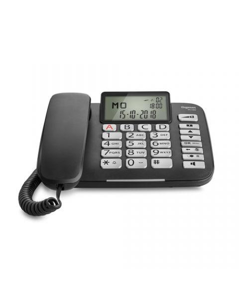 Gigaset DL580 telefono Telefono analogico Identificatore di chiamata Nero