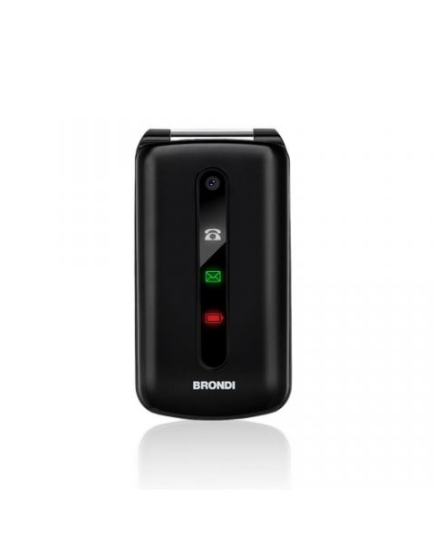 "Brondi President 7,62 cm (3"") 130 g Nero Telefono cellulare basico"