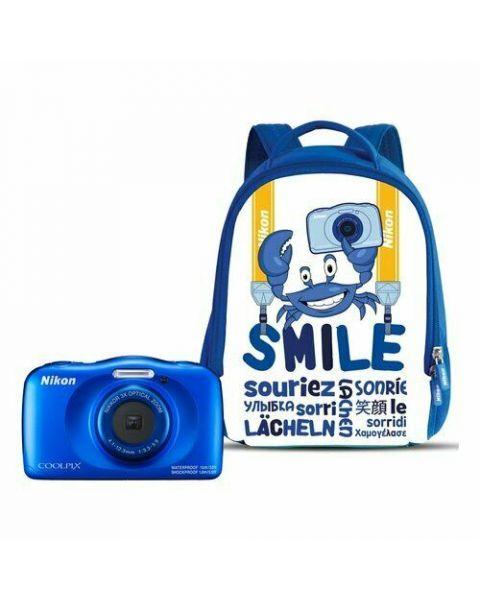 "Nikon COOLPIX W150 Kit 1/3.1"" Fotocamera compatta 13,2 MP CMOS 4160 x 3120 Pixel Blu"