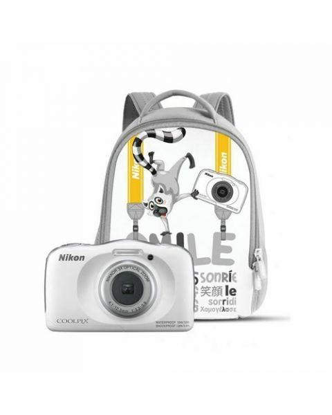 "Nikon COOLPIX W150 Kit 1/3.1"" Fotocamera compatta 13,2 MP CMOS 4160 x 3120 Pixel Bianco"