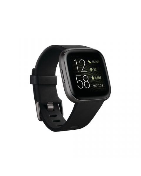 """Fitbit Versa 2 3,55 cm (1.4"""") 40 mm AMOLED Nero, Grigio"""