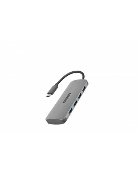 Sitecom CN-383 hub di interfaccia USB 3.2 Gen 1 (3.1 Gen 1) Type-C 5000 Mbit/s