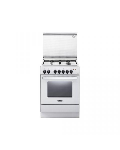 DeLonghi DEVW 65 ED cucina Piano cottura Gas Bianco A