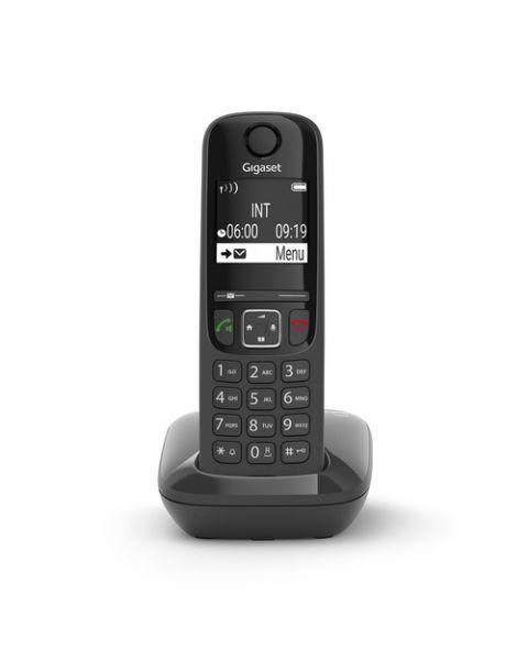 Gigaset AS690 Telefono analogico/DECT Identificatore di chiamata Nero