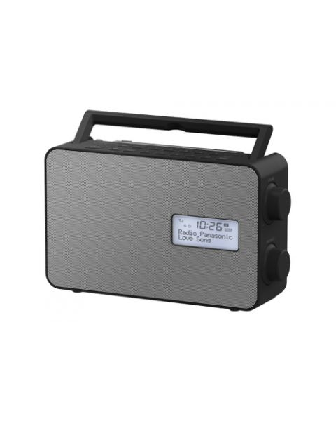Panasonic RF-D30BTEG Portatile Digitale Nero, Grigio