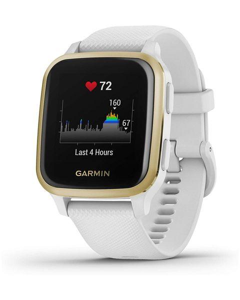"Garmin Venu SQ 3,3 cm (1.3"") LCD Oro, Bianco GPS (satellitare)"
