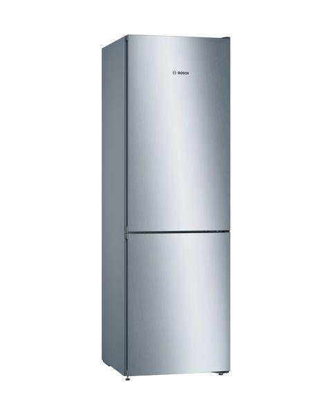 Bosch Serie 4 KGN36VLED frigorifero con congelatore Libera installazione 324 L Acciaio inossidabile