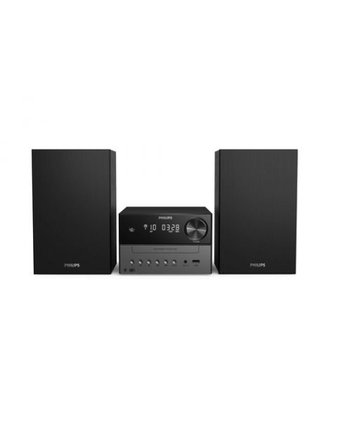 Philips TAM3505/12 set audio da casa Microsistema audio per la casa 18 W Nero, Grigio