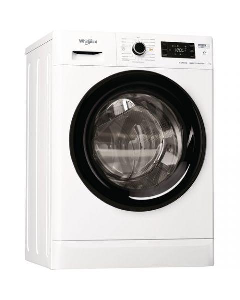 Whirlpool FSB 723V BS IT N lavatrice Libera installazione Caricamento frontale 7 kg 1200 Giri/min D Bianco