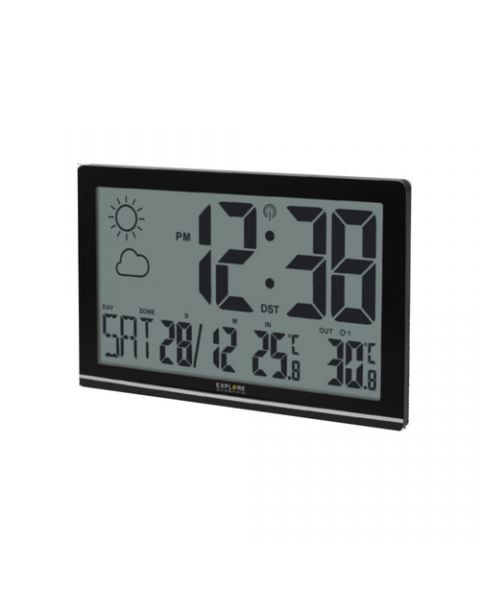 Explore Scientific RDC-8001 stazione meteorologica digitale Nero LCD Batteria