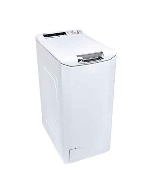 Hoover H-WASH 300 PLUS H3TSM48TAMCE-11 lavatrice Libera installazione Caricamento dall'alto 8 kg 1400 Giri/min B Bianco