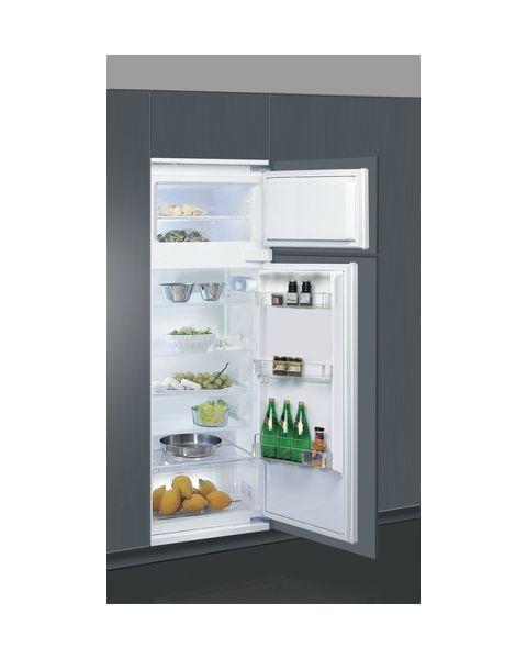 Whirlpool ART 3801 frigorifero con congelatore Da incasso 218 L F Acciaio inossidabile