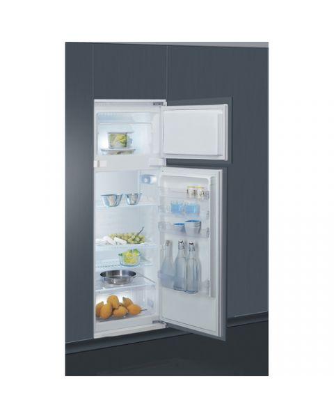 Indesit T 16 A1 D/I 1 frigorifero con congelatore Da incasso 239 L F Acciaio inossidabile