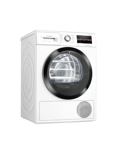 Bosch Serie 6 WTW85T09IT asciugatrice Libera installazione Caricamento frontale 9 kg A++ Bianco