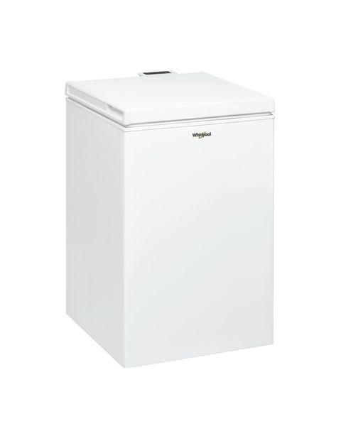 Whirlpool WHS1021 2 congelatore Libera installazione A pozzo 97 L Bianco