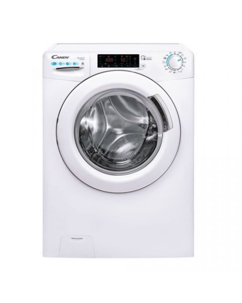Candy CSWS 485TWME/1-S lavasciuga Libera installazione Caricamento frontale Bianco