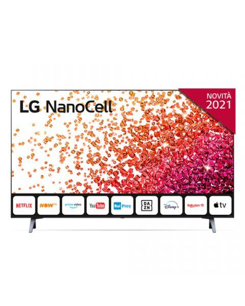 """LG NanoCell 43NANO756PA 43"""" Smart TV 4K Ultra HD NOVITÀ 2021 Wi-Fi Processore Quad Core AI Sound"""