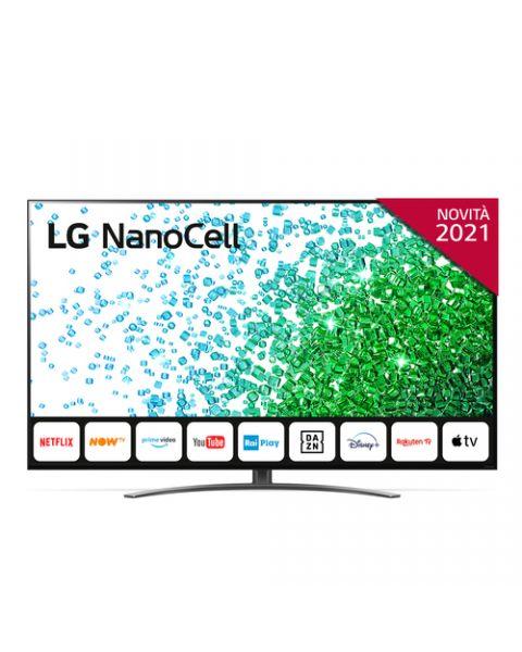 """LG NanoCell NANO81 65NANO816PA 65"""" Smart TV 4K Ultra HD NOVITÀ 2021 Wi-Fi Processore Quad Core AI Sound"""