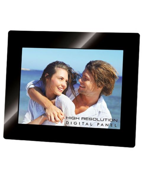 "Trevi DGF 2218 S cornice per foto digitali Nero 20,3 cm (8"")"