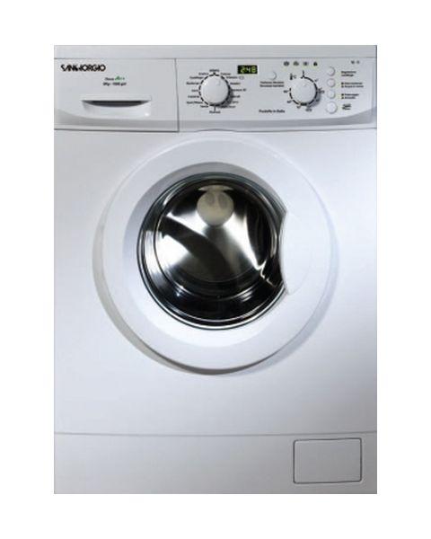 SanGiorgio SES610D lavatrice Libera installazione Caricamento frontale 6 kg 1000 Giri/min Bianco