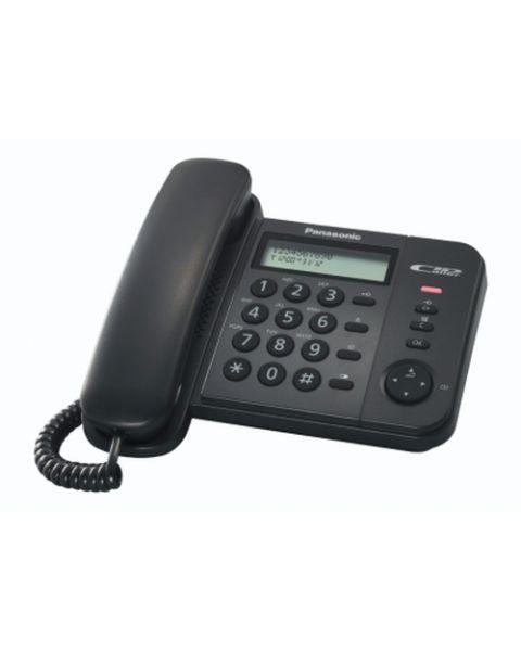 Panasonic KX-TS580EX1 Identificatore di chiamata Nero